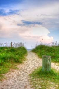 Edisto Beach + HDR Image