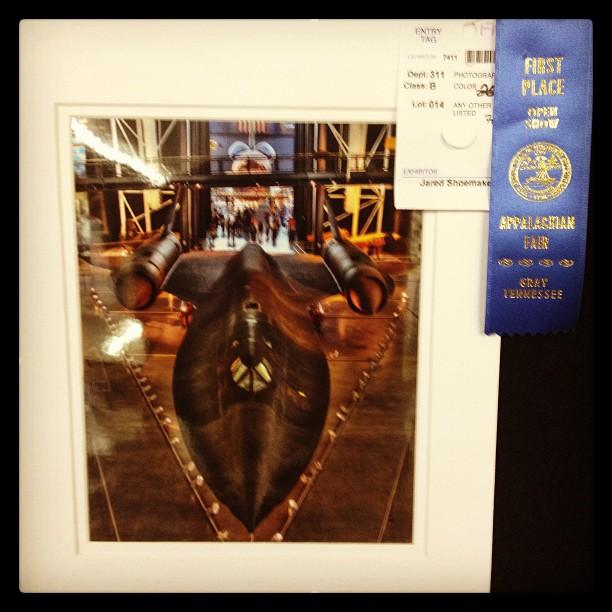 Udvar-Hazy SR-71 Blackbird HDR at the Appalachian Fair